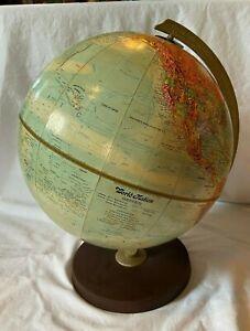 "Nice Vintage 60s 70s 12"" Replogle World Nation Series Globe"