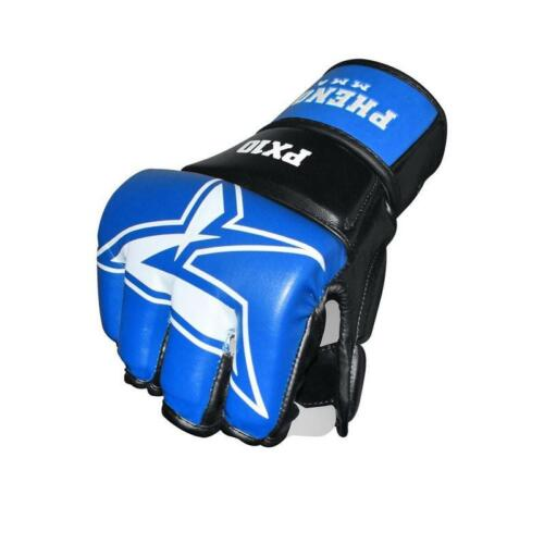 Phenom TS3 Panther Claw MMA Grappling Gloves Boxing Hand Wrap Gloves Straps R1..