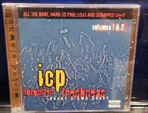 Insane Clown Posse - Forgotten Freshness 1 & 2 CD 1998 house of krazees twiztid