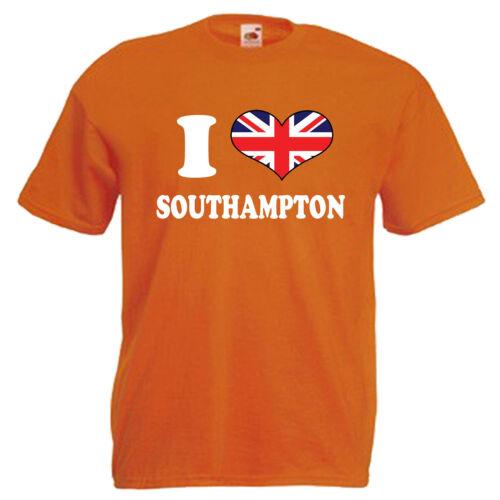 I Love Heart Southampton Children/'s Kids T Shirt