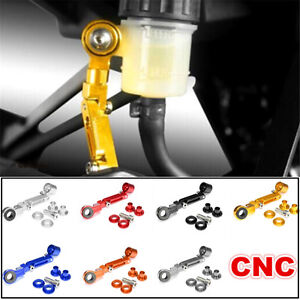 CNC-Bremsfluessigkeitsbehaelter-Halterung-Halter-Alu-fuer-BMW-K130-Honda-Kawasaki
