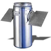 Selkirk Metalbestos 8t-rsp 8-inch Stainless Steel Roof Support Package 707372