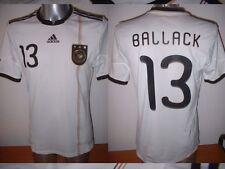 Germany BALLACK Adidas Adult L Football Soccer Shirt Jersey Trikot Deutschland 1