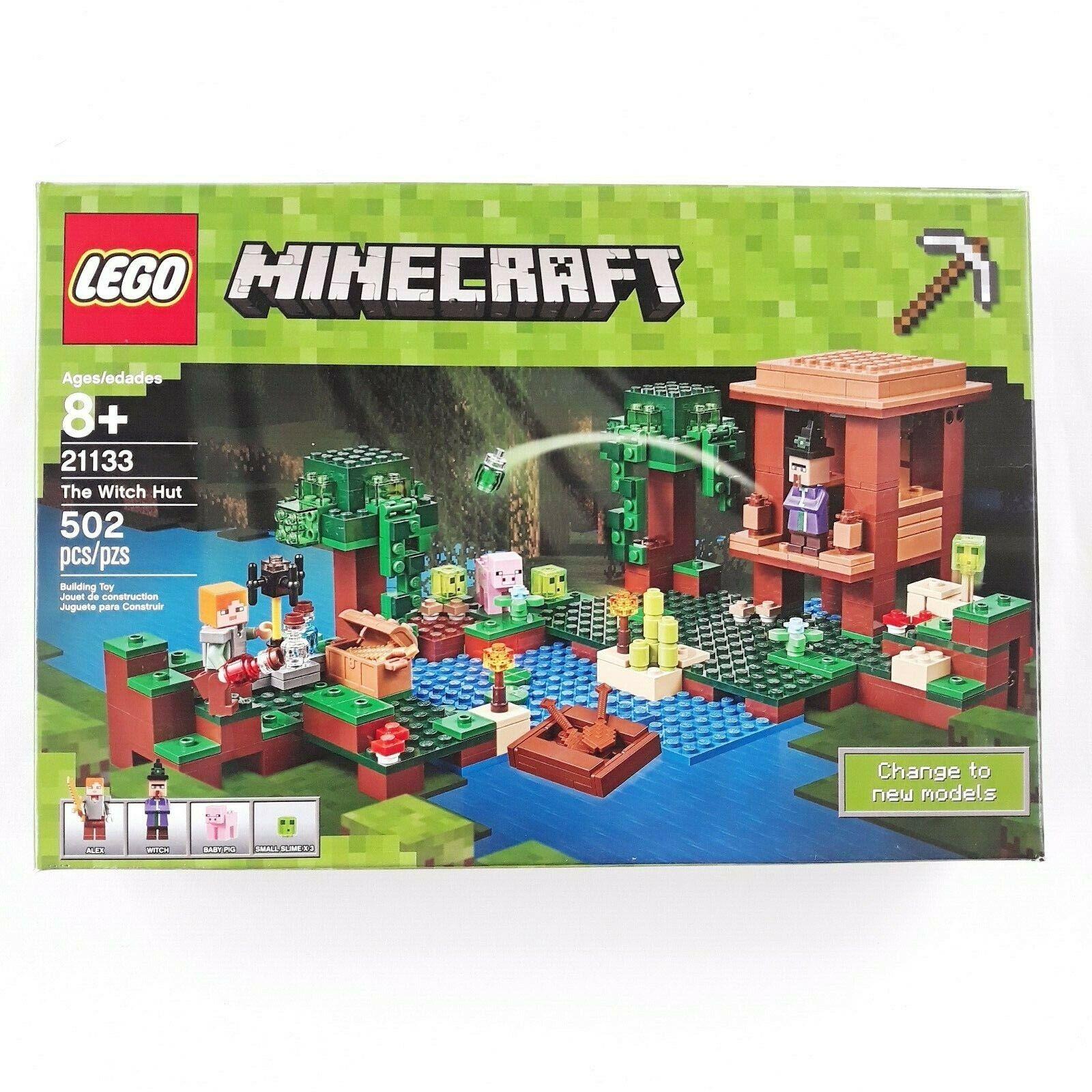 Lego 21133 Minecraft La Bruja choza 502 piezas 2017 retirado Nuevo Sellado