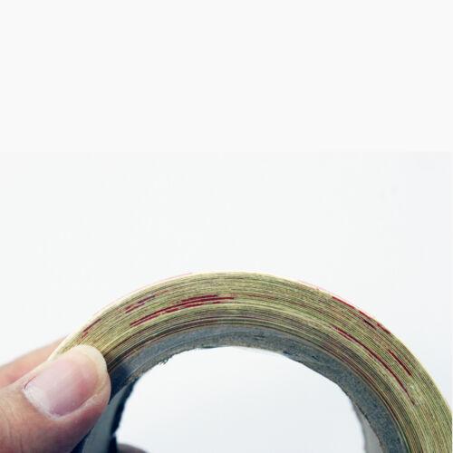 Nuovo 50mm x 10m Alta Resistenza Riflettente a Quadri Nastro Rotolo Vinilico UK