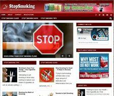 Stop Smoking Wp Blog Established Profitable Turnkey Wordpress Website For Sale