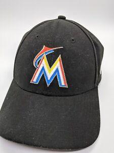 53bb3b20ac0 Image is loading Florida-Miami-Marlins-New-Era-Adjustable-Adult-Baseball-