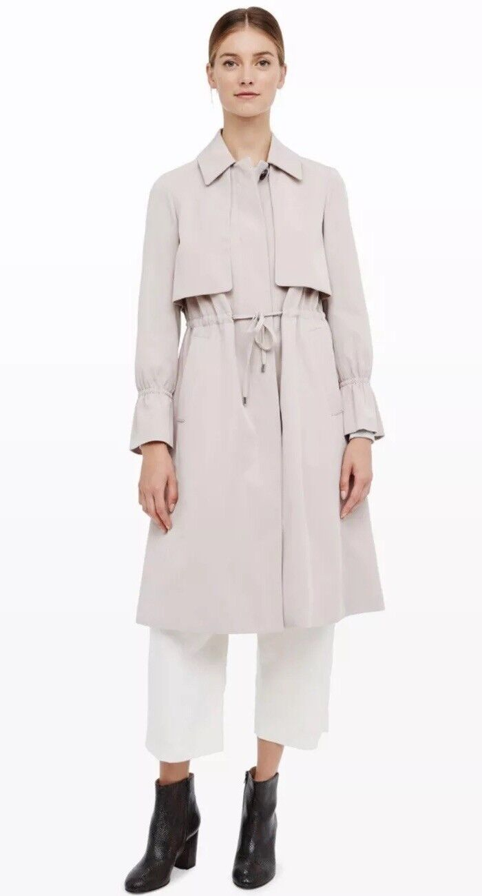 Club Monaco Carolena Trench Natural Size L