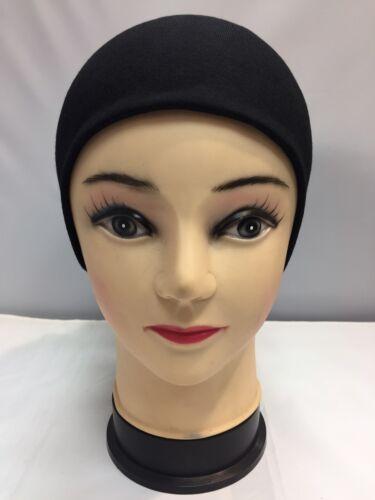 2x NUOVA nera Sotto Hijab TUBO bonnet cap