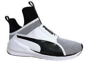 watch b09c1 9e8ed Details about Puma Fierce Core Womens Slip On Mesh Dance Trainers 188977 02  P0