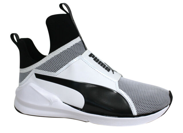 PUMA Fierce Core Kylie Jenner White Black Womens Fashion Training ... 25dfd2118