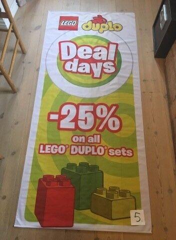 Lego andet, DUPLO Banner fra Butik