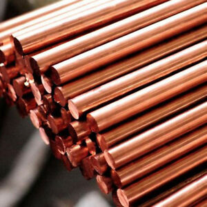 14mm Solid Copper C101 Round Bar 5 lengths available