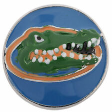 Florida GATORS Snap Interchangeable Jewelry 18mm Fits Ginger Snaps