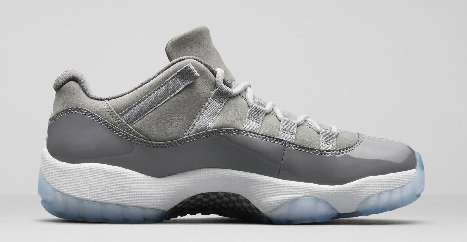 Mens Brand New Air Jordan 11 Retro Low  Cool Grey  Fashion Sneakers