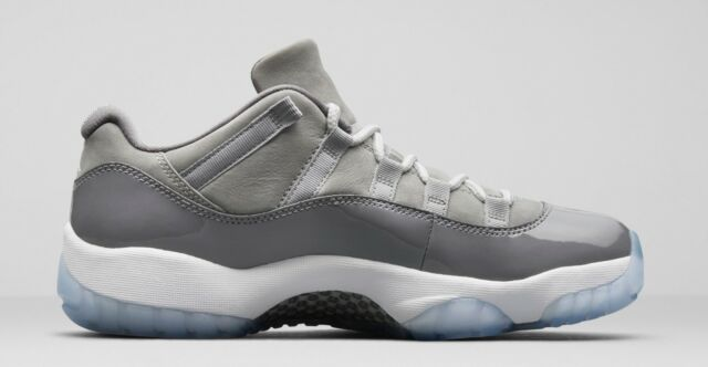... canada mens brand new air jordan 11 retro low cool grey fashion  sneakers 528895 43344 5610b d6d15075a