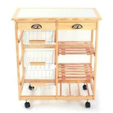 Mecor Oak Kitchen Island Cart Trolley Dining Table Storage 2 Bar Stools Drawer For Sale Online Ebay,What Color Makes You Sleepy