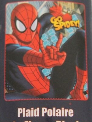 Casa, Arredamento E Bricolage Provided Coperta Plaid Spiderman 120 X 140 100% Poliestere Rosso Blu Stampa Relieving Rheumatism And Cold