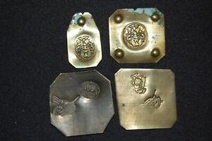 Austria-Turkey-4x-Gold-Gewichte-Vz