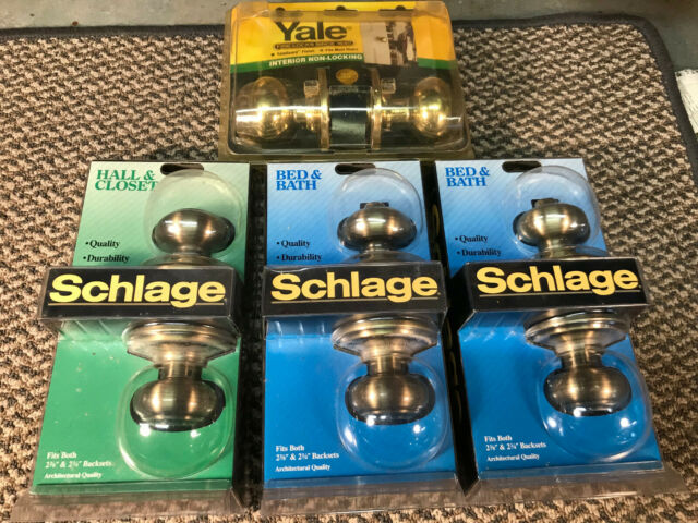 Schlage and Yale Door Handles and Locks