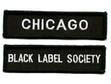 BLACK LABEL SOCIETY FAN CLUB CHICAGO FAN CLUB PATCH SET