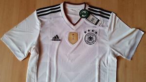 Details zu Deutsche Nationalmannschaft DFB Trikot Heim Adidas Gr. M Weltmeister 2014 NEU