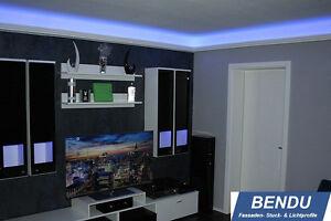 23 6m Led Stuckleisten Indirekte Beleuchtung Decke Wohnzimmer