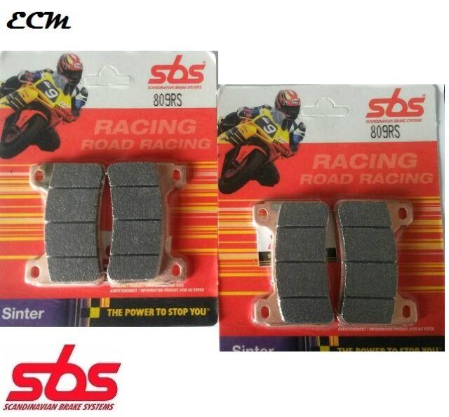 Honda CBR1000RR 2007 Fireblade Front Brake Pads SBS 809RS Race Sinter