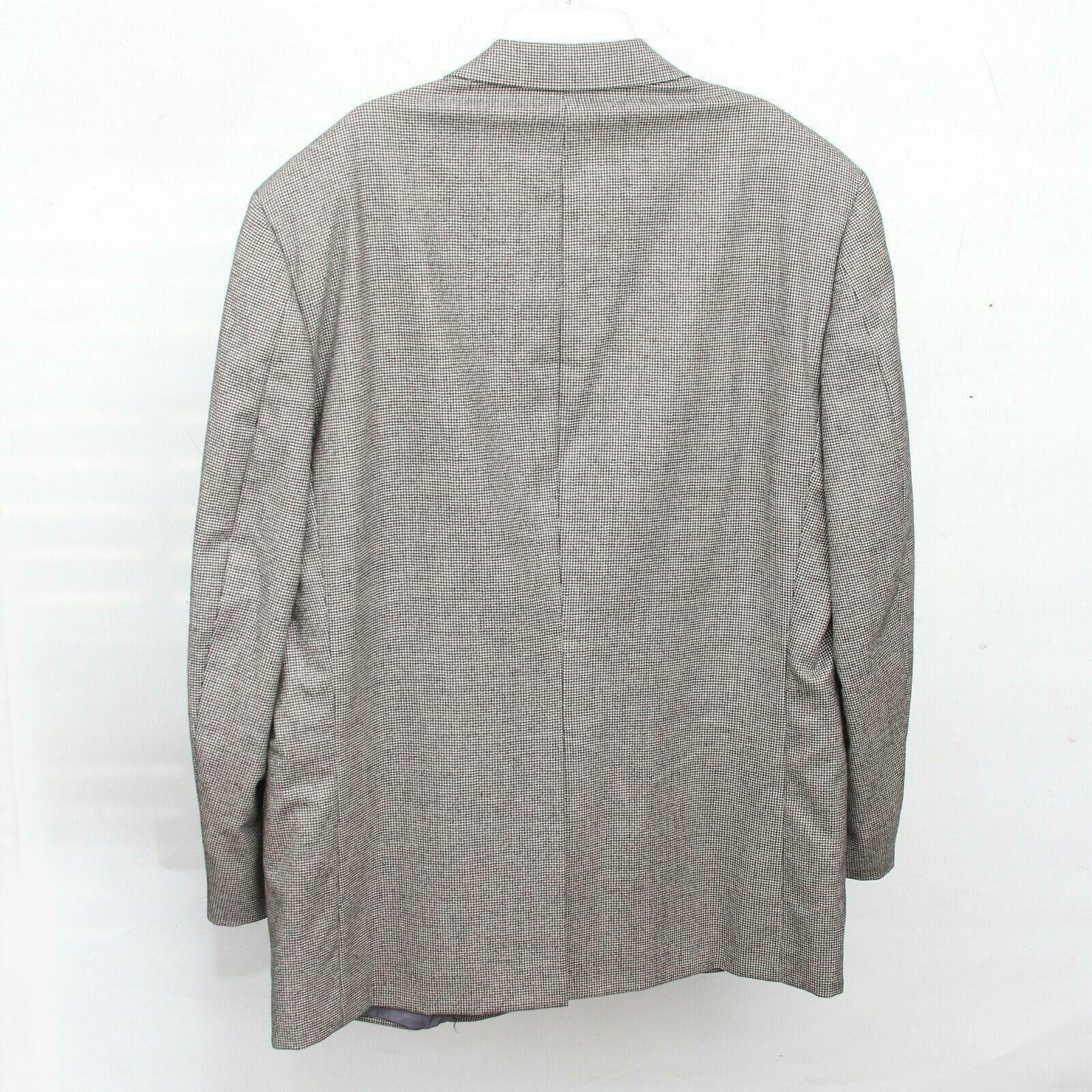 Hickey Freeman Paul Simon Gray White Black Wool H… - image 2