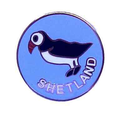 Puffin Sea Bird Pewter Pin Badge