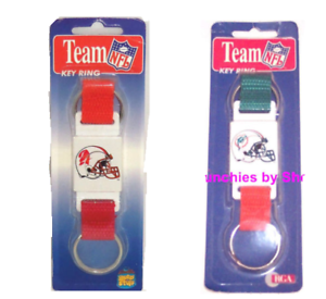 Miami Dolphins Tampa Bay Buccaneers Key Ring Old Logo Throwback 2 In 1 Nfl Ebay