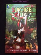 SUICIDE SQUAD VOL 1 TPB #1 2 3 4 5 6 7 HARLEY QUINN KICKED IN THE TEETH ORIGIN