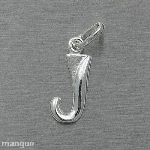 Buchstaben Anhänger Echtschmuck 925 Silber auf Wunsch mit Kette NEU J