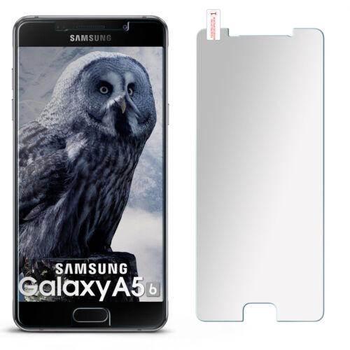 Cristal blindado diapositiva para Samsung Galaxy a5 2016 display protección nuevo en mate de vidrio