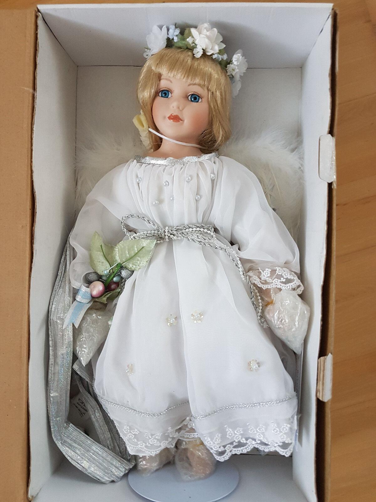 Alex Chen Künstlerpuppe   Mädchen   50 cm Limitiert Puppe Sammlerpuppe Vicki