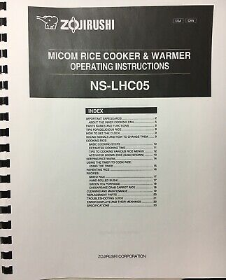 Pdf manual for zojirushi other ns-zcc18 warmers.