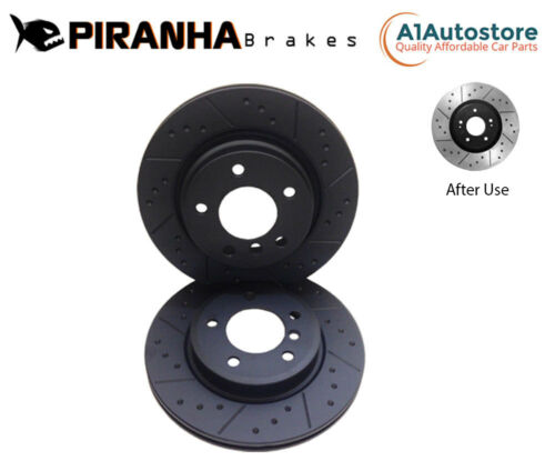 FRONT DIMPLED GROOVED BRAKE DISCS FOR BMW 1 3 SERIES F20 F21 118 120d 320i 300mm