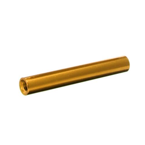 10~100pcs Gold CNC M3 10mm-35mm Round Aluminum Standoff Spacer Studs Fastener