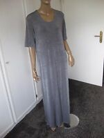 Ulla Popken tolles  Kleid Gr.  44 grau