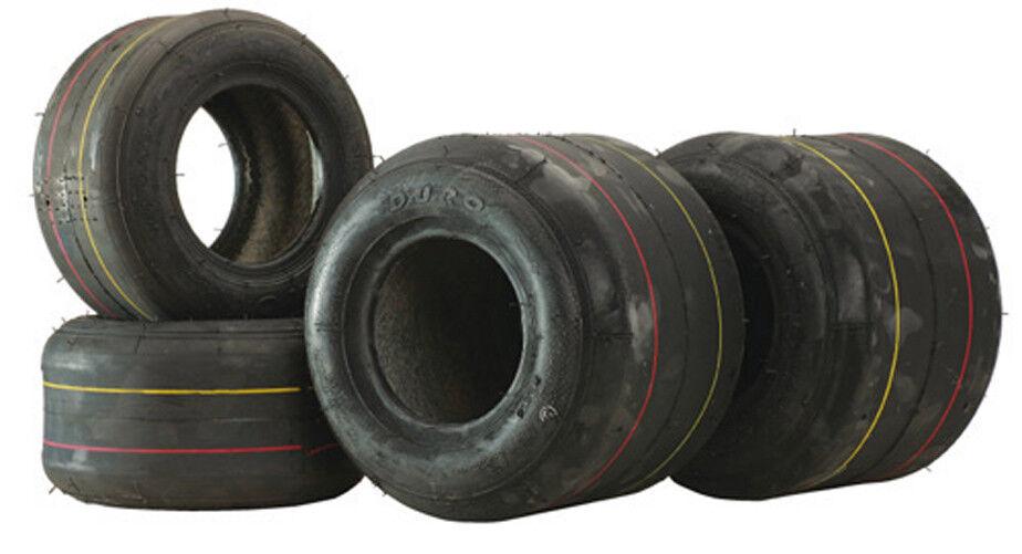 Kart Duro Tire Set SL 65 Hard 4.5 7.1 hf-242 Tyres Pas disponsible