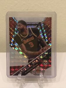 2019-20 Panini Mosaic Will To Win Silver Prizm Anthony Davis