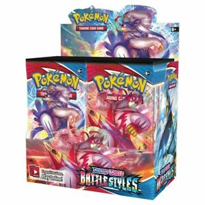 Pokemon Battle Styles Booster Box - 36 packs - Brand New! Preorder Ships Fast!