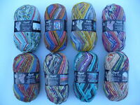 8 x 100 gr. Sockenwolle/Strumpfwolle Opal Hundertwasser 2