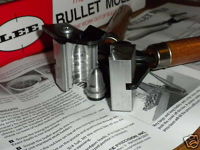 """Lee 1 Cavity Bullet Mold Improved Minie Ball .533/"""" 410 Grains 90473"""