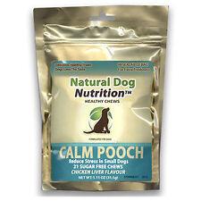 Calma Pooch Perros Pequeños estrés ansiedad por separación alivio el hígado de pollo 21 Golosina para limpieza