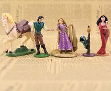 Tangled Princesa Rapunzel Flynn Barco Para montarse Muñeca Barbie Set Mattel aa