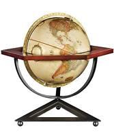 Replogle Hexagon Frank Lloyd Wright Desktop Globe - 12 Inch