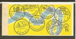 """1969 Ungarn Markenheft """"Städte am Donauknie """" mit 4 vers. MH Blätter ** - Wien, Österreich - 1969 Ungarn Markenheft """"Städte am Donauknie """" mit 4 vers. MH Blätter ** - Wien, Österreich"""