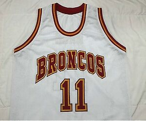 huge discount ad9cd bc9e5 Details about STEVE NASH Santa Clara Broncos White College Basketball  Jersey Gift Any Size