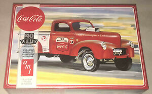 AMT-1940-Willys-Pickup-Gasser-Coca-Cola-1-25-scale-model-kit-new-1145